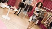 Ragtime shopping – Stephanie Umoh (striped dress)