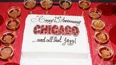 Chicago 13th Anniversary  cake