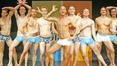 The cast of Naked Boys Singing.