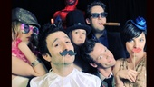 2012 Audience Choice Awards Photo Booth  - Caissie Levy – David Reiser - Farra Ungar - Andrew Kober - Ryan Watkinson - Krysta Rodriguez