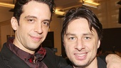 Bullets Over Broadway - Meet and Greet - OP - Nick Cordero - Zach Braff