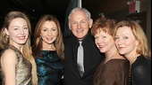 Victor Garber is surrounded by legendary ladies! Juliet Rylance, Donna Murphy, Becky Ann Baker and Julie White gather around the stage and screen star.