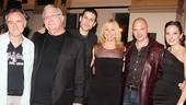 Faust arranger and orchestrator Michael Roth, composer Randy Newman, and stars Tony Vincent, Vonda Shepard, Michael Cerveris and Laura Osnes.