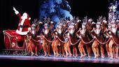 Don't forget Santa! No holiday show at Radio City Music Hall would be complete without a visit from the man in red.