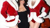 Make-A-Wish Foundation at The Radio City Christmas Show - Paula Abdul - two rockettes