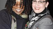 A lovely shot of Whoopi Goldberg and Ragtime director Marcia Milgrom Dodge.