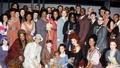 Whoopi Goldberg at Ragtime  group shot