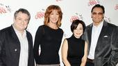 New God of Carnage cast meet and greet - Ken Stott - Christine Lahti - Annie Potts - Jimmy Smits