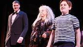 Addams Family Chicago opening – cc – Zachary James – Jackie Hoffman – Adam Riegler