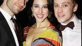 Addams Family Chicago opening  Colin Cunliffe - Jessica Lea Patty - Michael Buchanan