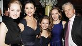 A Little Night Music Opening – Erin Davie – Catherine Zeta-Jones – Katherine Leigh Doherty – Betsy Morgan – Michael Douglas
