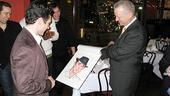 Rick Faugno Caricature at Sardi's – Rick Faugno – Max Klimivicius (unveiling)