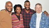 Scottsboro Boys meet and greet – Forrest McClendon – Sharon Washington – Colman Domingo – John Cullum