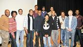 Scottsboro Boys meet and greet  cast