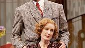 Victor Garber as Garry Essendine and Lisa Banes as Liz Essendine in Present Laughter.