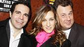 Present Laughter Opening - Mario Cantone - Sarah Jessica Parker - Brooks Ashmanskas