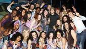Josh Groban at Hair – group