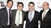 View from the Bridge Opening Night – Alex Cendese – Robert Turano – Joe Ricci – Mark Morettini