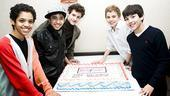 Billy Elliot 500 Performance - Liam Redhead - Dayton Tavares - Trent Kowalik - Michael Dameski - Alex Ko