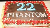 Phantom Turns 22  cake