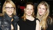 Times Stands Still Opening Night – Jill Clayburgh – Laura Linney – Lily Rabe