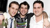 Damiano and Chanler-Berat at Joe's Pub – Adam Chanler Berat – brother Jordan – brother Derek