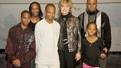 Make a Wish Foundation at West Side Story - Elijah - family - Pat Clemency