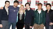 Million Dollar Quartet Meet and Greet – cast group shot
