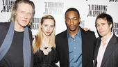 Behanding in Spokane Opening Night  Christopher Walken  Zoe Kazan  Anthony Mackie  Sam Rockwell (party)