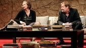 Janet McTeer as Veronica and Jeff Daniels as Michael in God of Carnage.