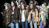 Hair New Cast First Performance – Vanessa Ray – Ace Young – Diana DeGarmo – Jeannette Bayardelle – Annaleigh Ashford