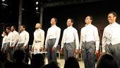 Scottsboro Boys Opening Night  curtain call 