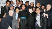Scottsboro Boys Opening Night – Liza Minnelli – group shot