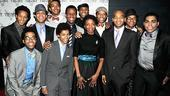Scottsboro Boys Opening Night – group shot