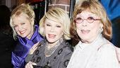 Next Fall Opening Night  Christine Ebersole  Joan Rivers  Phyllis Newman