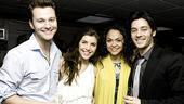 West Side Story first anniversary - Matthew Hydzik - Josefina Scaglione – Karen Olivo – George Akram