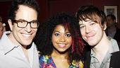 American Idiot Sound Check - Michael Mayer - Rebecca Naomi Jones - John Gallagher Jr