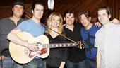 Million Dollar Quartet Recording Session – Lance Guest – Eddie Clendening – Elizabeth Stanley – Hunter Foster – Levi Kreis – Robert Britton Lyons