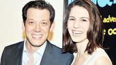 Imaginocean Opening Night  John Tartaglia  Christy Carlson Romano