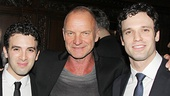 Trudie Styler and Sting with Beautiful boys Jarrod Spector & Jake Epstein