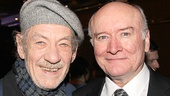 Godot star Ian McKellen & Machinal player Edward James Hyland