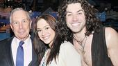 Mayor Bloomberg at Hair – Diana DeGarmo – Ace Young