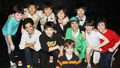 Korean Cast at Billy Elliot  all boys