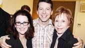Burnett &amp; Mullally at Promises, Promises  Megan Mullally  Sean Hayes  Carol Burnett