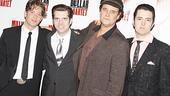 Million Dollar Quartet Opening – Levi Kreis – Robert Britton Lyons – Lance Guest – Eddie Clendening - fourshot