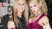 New Rock of Ages star Emily Padgett continues to up her rock street cred with a glowing endorsement from Lita Ford.