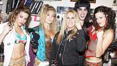 Lita Ford at Rock of Ages  Angel Reed  Katie Webber  Lita Ford  Jeremy Woodward  Katherine Tokarz