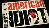 American Idiot Opening  sign