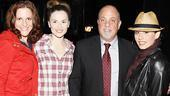 Billy Joel at Jersey Boys  Bridgett Berger  Katie OToole  Billy Joel  Michelle Aravena