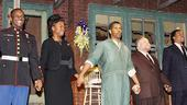 Fences Opening Night  curtain call